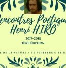 Rencontres poétiques Henri Hiro