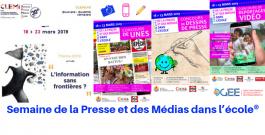 Semaine de la Presse et des Médias dans l'école® 2019
