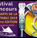 Concours des Arts de la table 2019