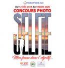 Concours de photographie «selfie» 2019-2020